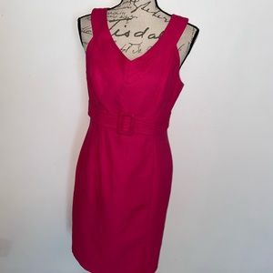 🌹Talbots Rose Embroidered Dress
